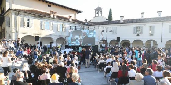 """I protagonisti di oggi a Gusti di Frontiera: """"il"""" strucolo della pace, Giuliano Baldessari e il premio Romoli"""