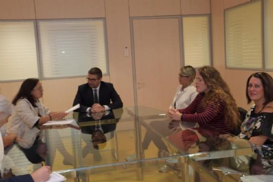 Incontro dell'assessore Pierpaolo Roberti con alcuni membri del Comitato pari rappresentanza