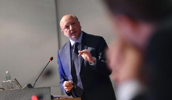Il presidente di Confindustria Vincenzo Boccia