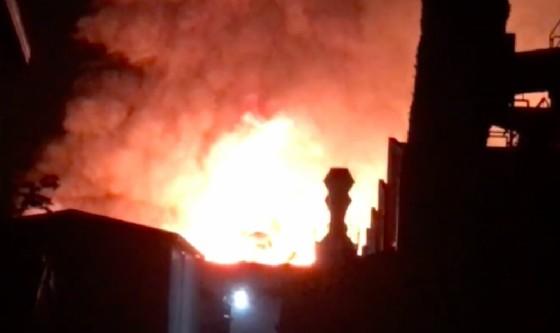 Prata: ancora fiamme al mobilificio Santarossa