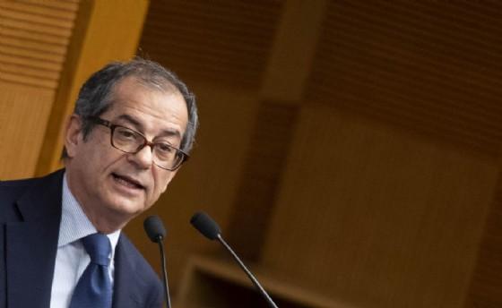 Giovanni Tria alla presentazione del Rapporto ASviS 'L'Italia e gli Obiettivi di Sviluppo Sostenibile'