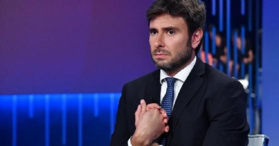 """L'esponente M5S, Alessandro Di Battista, ospite della trasmissione tv condotta da Lilli Gruber """"Otto e mezzo"""""""