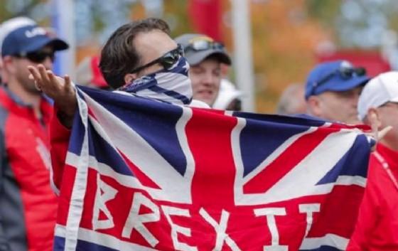 Un sostenitore della Brexit