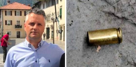 Bossolo di proiettile al sindaco Di Bernardo