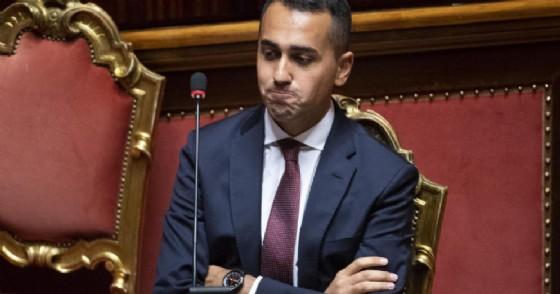 Il vicepremier e ministro del Lavoro e dello Sviluppo economico Luigi Di Maio nell'aula della Camera