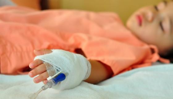 Bimbo in ospedale - Immagine rappresentativa