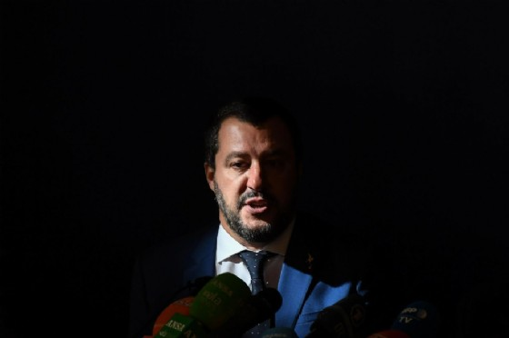 Il vicepremier e ministro dell'Interno Matteo Salvini