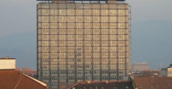 Il grattacielo della RAI a Torino