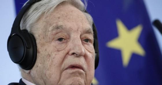 Il magnate ungherese George Soros, presidente della Open society