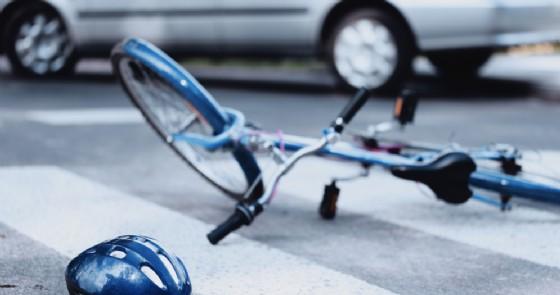 Incidente in bici - Immagine di repertorio