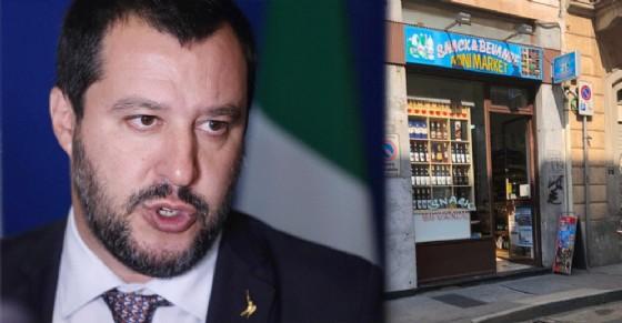 Salvini chiude i supermarket etnici alle 21: «Ritrovo di ubriaconi e spacciatori»
