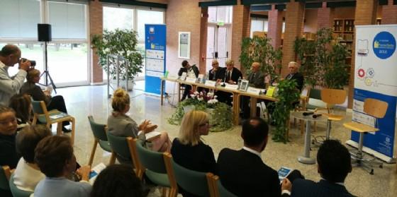 Sono stati premiati a Biella, presso la Città Studi, i cinque libri finalisti del XVII Premio Biella Letteratura e Industria