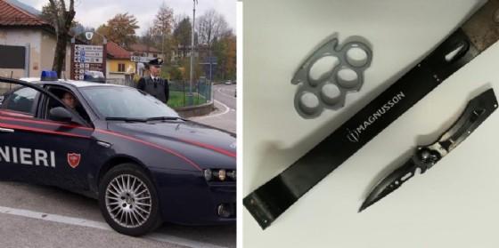 Tirapugni, coltello e grimaldello nascosti in auto: denunciati due romeni