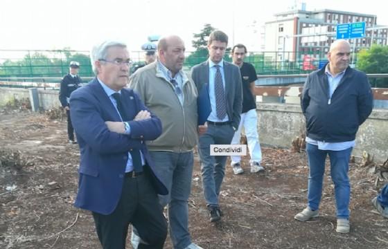 Udine, conclusa la messa in sicurezza dell'ex distributore Esso di viale Venezia