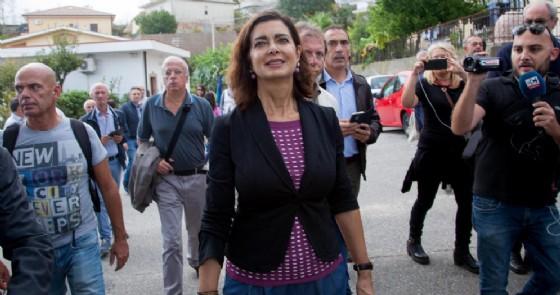 La deputata di Liberi e uguali Laura Boldrini