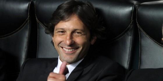 Il direttore dell'area tecnica del Milan Leonardo