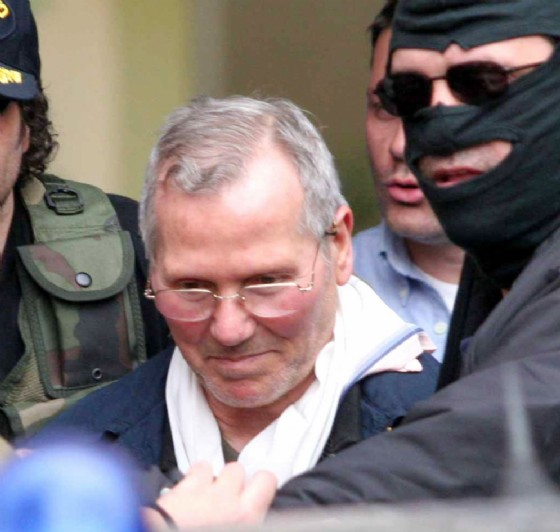 La cattura nel 2006 del boss Bernardo Provenzano