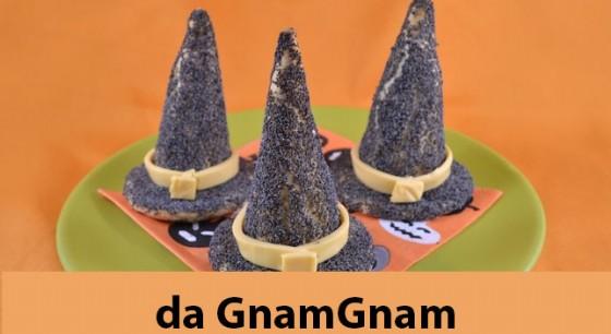 I cappelli della strega che si trovano sul sito di GnamGnam