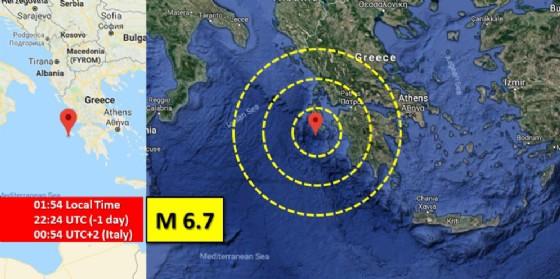 Terremoto in Grecia: attimi di terrore per degli studenti del Bertoni in gita a Olimpia