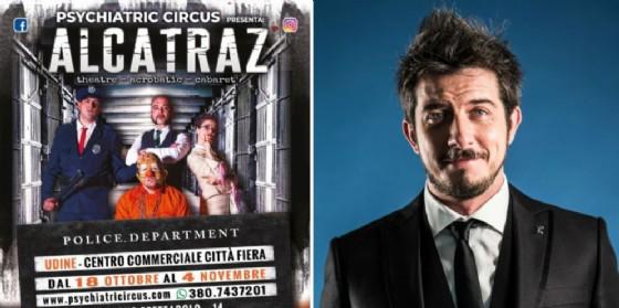 'Psychiatric Alcatraz': ad Halloween sul palco anche Paolo Ruffini