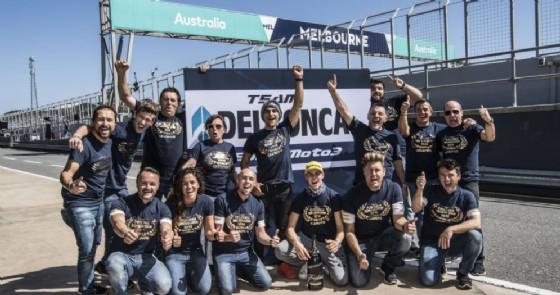 Il Team Del Conca Gresini Moto3 si laurea Campione del Mondo in Australia