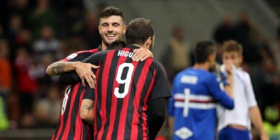 I nuovi gemelli del gol del Milan: Cutrone e Higuain