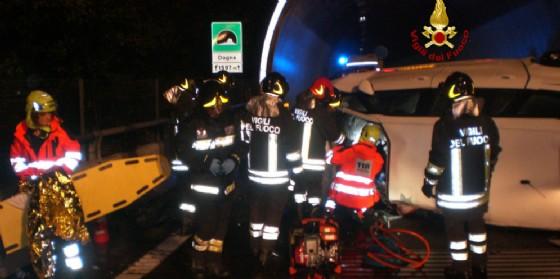 Sbanda con l'auto in A23: morto un 56enne di Cervignano