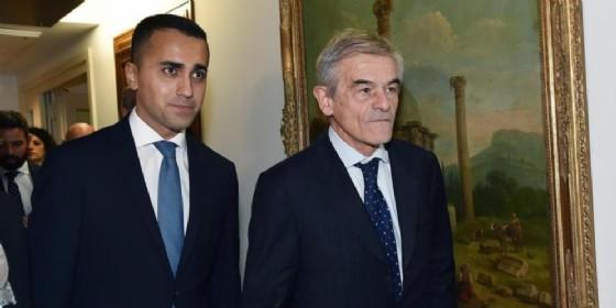 Luigi Di Maio e Sergio Chiamparino