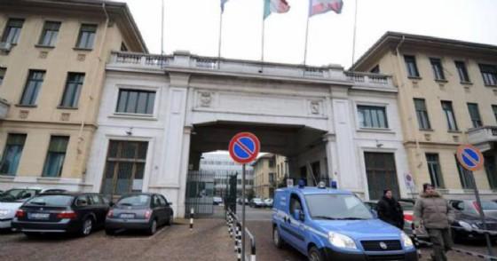 L'ingresso dell'ospedale Molinette di Torino