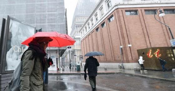 Il maltempo non lascia Torino, ancora una settimana di piogge: le previsioni