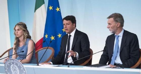 Era il 25 agosto 2016. Renzi con i ministri Madia e Delrio annunciava «Casa Italia»