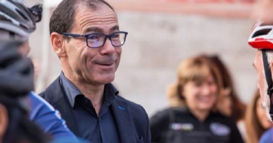 Davide Cassani, ct della nazionale di ciclismo