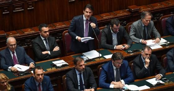 Comunicazioni del presidente del Consiglio Giuseppe Conte in Aula alla Camera