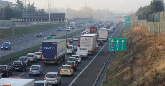 Torino, incidente in tangenziale Sud: traffico in tilt tra Drosso e Sito (immagine archivio)
