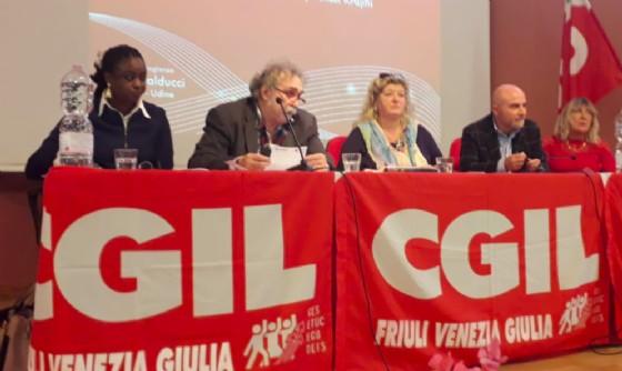 Cgil, il Congresso si chiude con la fiducia a Pezzetta