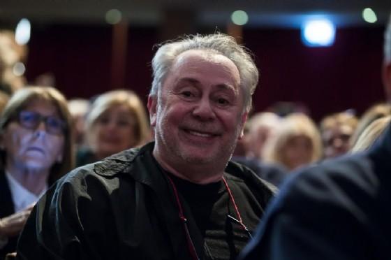 Lele Mora durante la presentazione del libro di Ennio Morricone e Giuseppe Tornatore