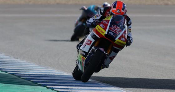 Moto2, Jerez: Baldassarri parte forte nei test