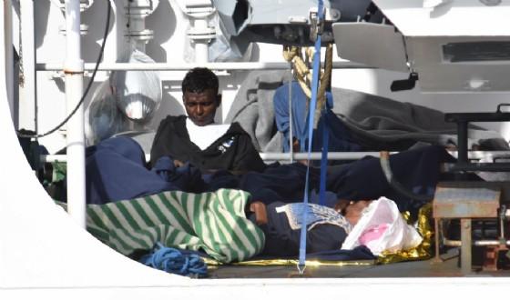 Migranti, foto di repertorio