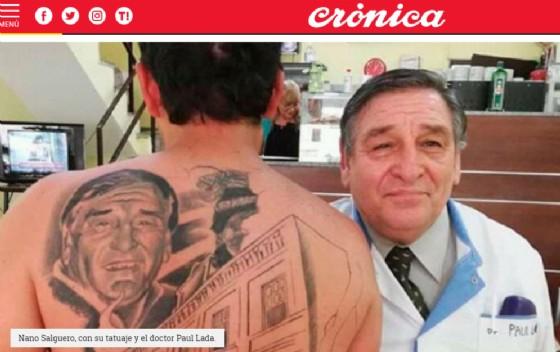 Il tatuaggio di Nano