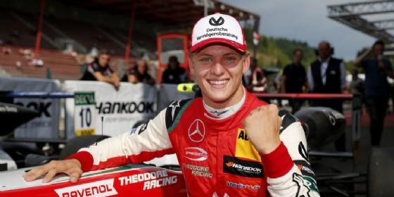 Mick Schumacher in F.2: