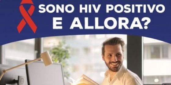 Uno dei manifesti della campagna istituzionale del Comune di Torino sull'Aids
