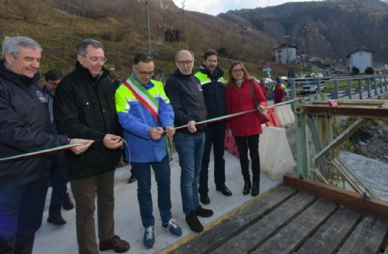 Inaugurato il nuovo ponte bailey a Timau