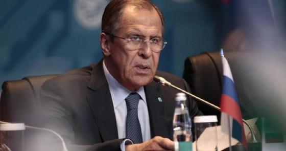 Il Ministro degli Esteri russo, Sergey Lavrov