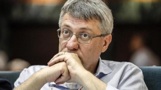 Maurizio Landini, leader della CGIL