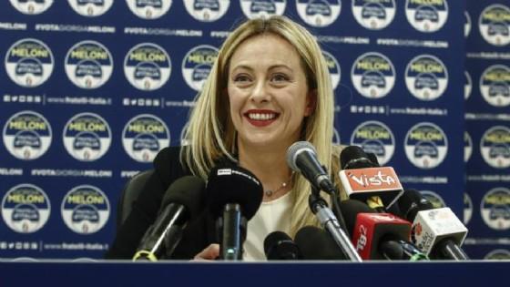 Giorgia Meloni, leader di Forza Italia