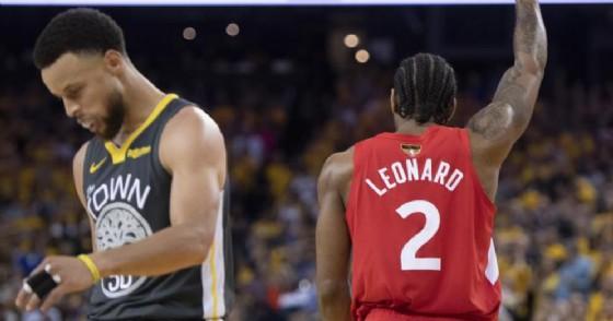 Toronto sbanca l'Oracle Arena, il titolo Nba va in Canada