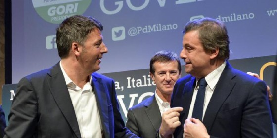 Matteo Renzi e Carlo Calenda