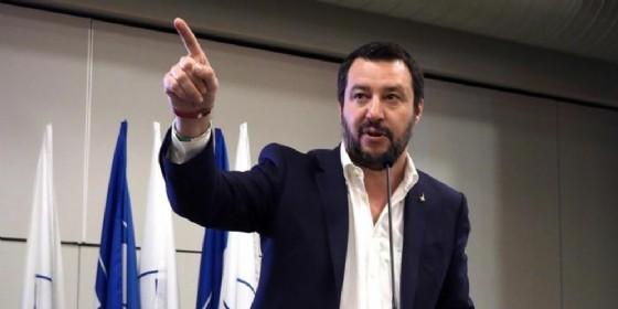 Il leader della Lega, Matteo Salvini