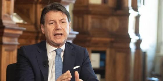 Il leader del Movimento 5 Stelle, Giuseppe Conte
