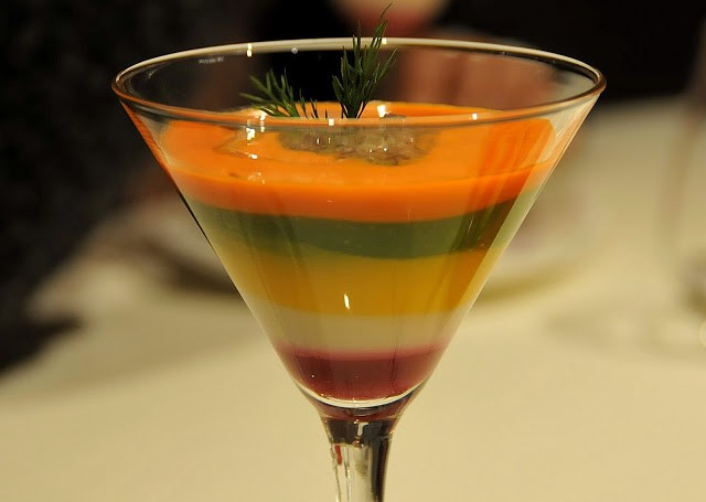 Bagna cauda in coppa Martini